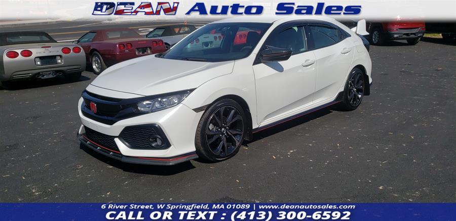 Used Honda Civic Hatchback Sport CVT 2018 | Dean Auto Sales. W Springfield, Massachusetts