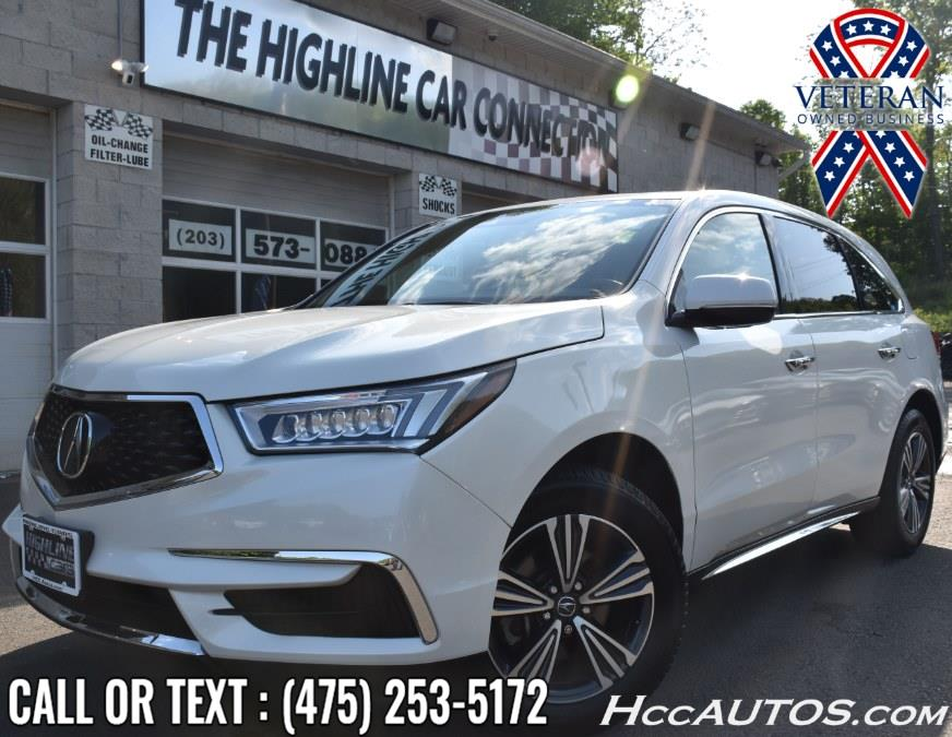 Used 2018 Acura MDX in Waterbury, Connecticut   Highline Car Connection. Waterbury, Connecticut