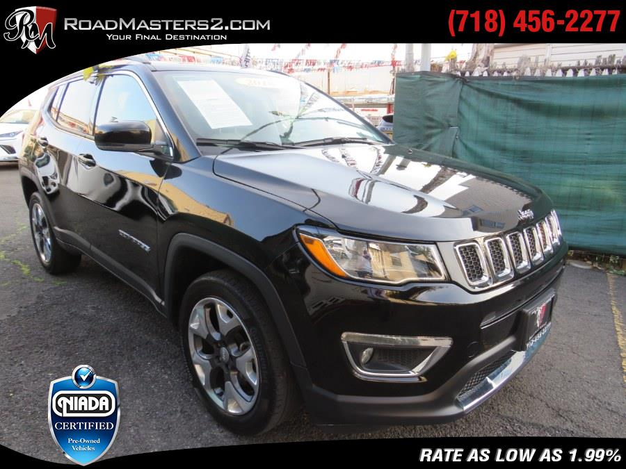 Used Jeep Compass Limited 4x4 PANO/NAVI Mopar Edition 2018 | Road Masters II INC. Middle Village, New York