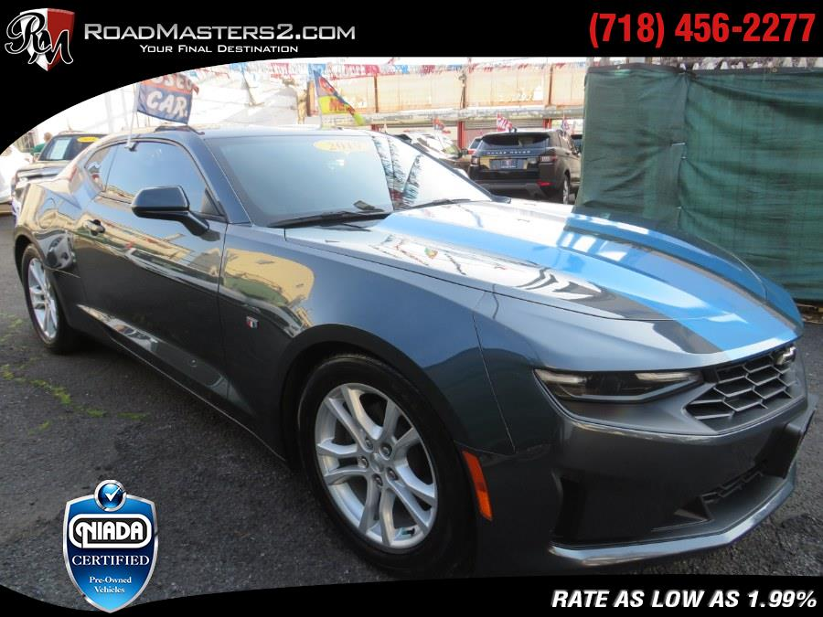 2019 Chevrolet Camaro 2dr Cpe 1LT, available for sale in Middle Village, NY