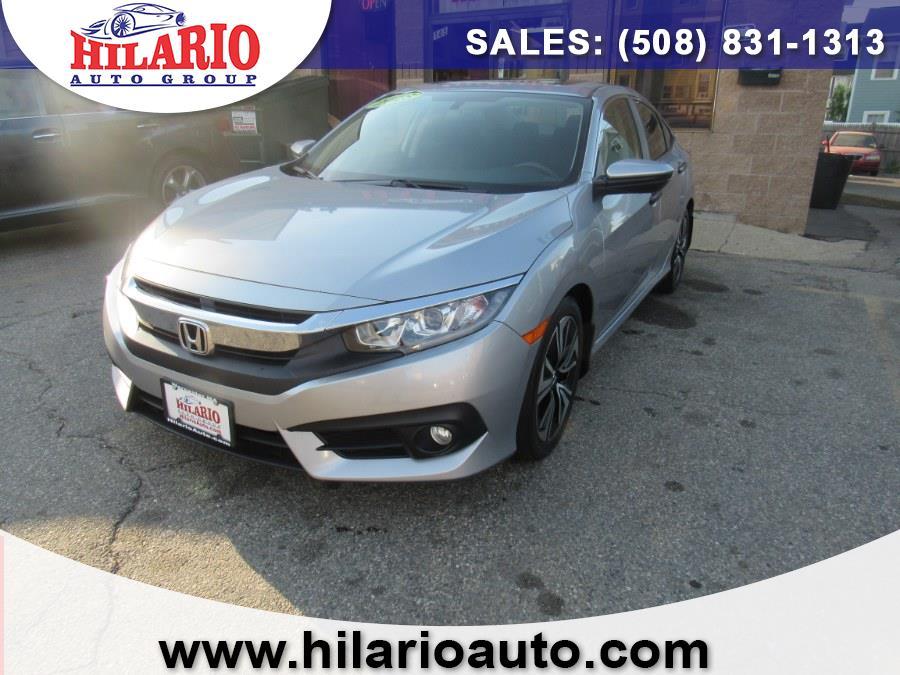 Used 2018 Honda Civic Sedan in Worcester, Massachusetts | Hilario's Auto Sales Inc.. Worcester, Massachusetts