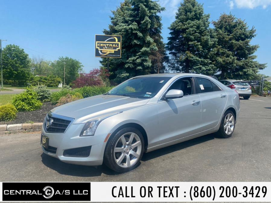 Used Cadillac ATS 4dr Sdn 2.5L RWD 2013 | Central A/S LLC. East Windsor, Connecticut