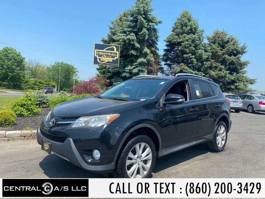 Used Toyota RAV4 AWD 4dr Limited (Natl) 2013 | Central A/S LLC. East Windsor, Connecticut