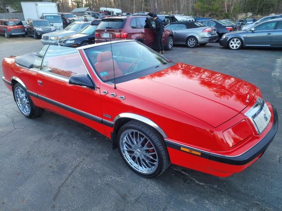 Used Chrysler Lebaron 2dr Convertible GT 1990 | ODA Auto Precision LLC. Auburn, New Hampshire