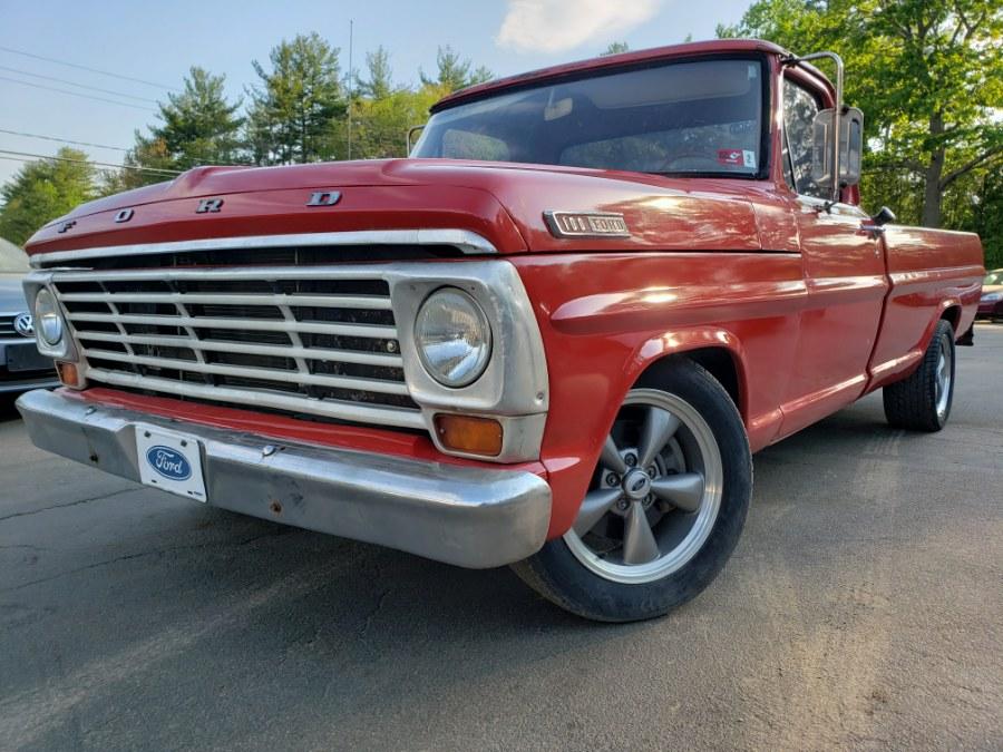 Used Ford F100 truck 1967 | ODA Auto Precision LLC. Auburn, New Hampshire