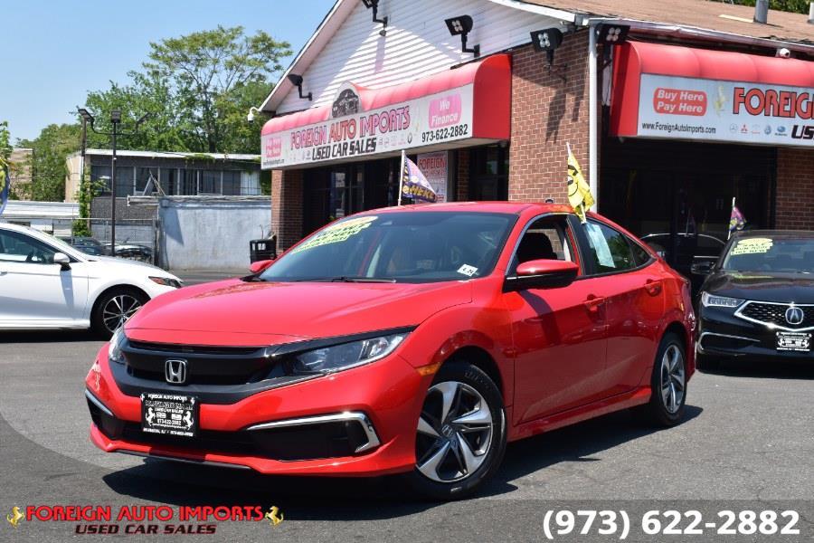 Used 2019 Honda Civic Sedan in Irvington, New Jersey | Foreign Auto Imports. Irvington, New Jersey