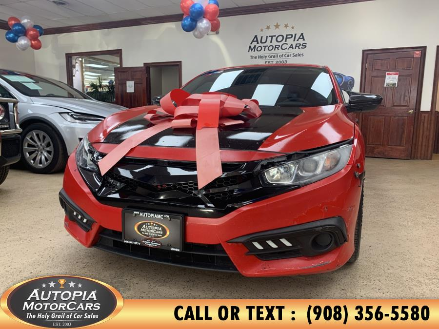 Used 2017 Honda Civic Sedan in Union, New Jersey | Autopia Motorcars Inc. Union, New Jersey