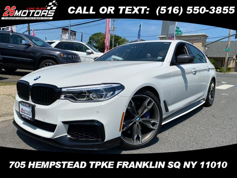 Used BMW 5 Series M550i xDrive Sedan 2018 | Hempstead Auto Outlet Inc. DBA 26 Motors Long Isla. Franklin Sq, New York