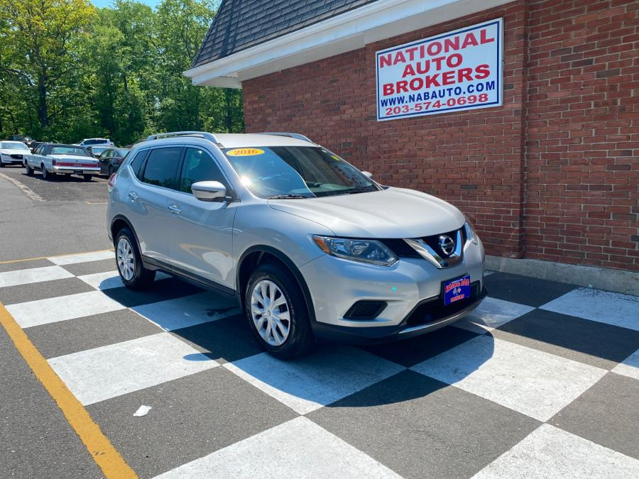 Used Nissan Rogue AWD 4dr S 2016 | National Auto Brokers, Inc.. Waterbury, Connecticut
