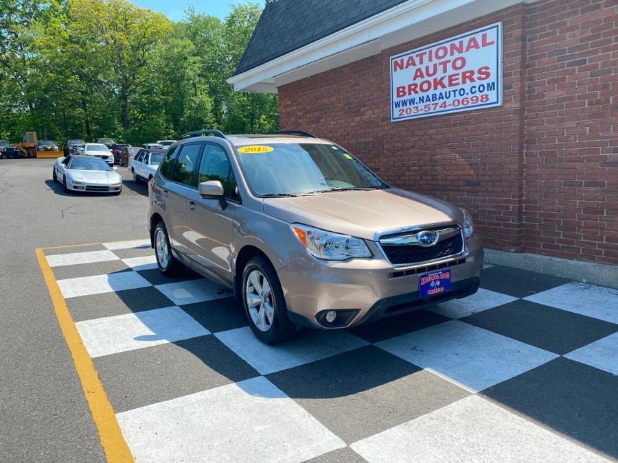 Used Subaru Forester 4dr 2.5i Premium 2015 | National Auto Brokers, Inc.. Waterbury, Connecticut
