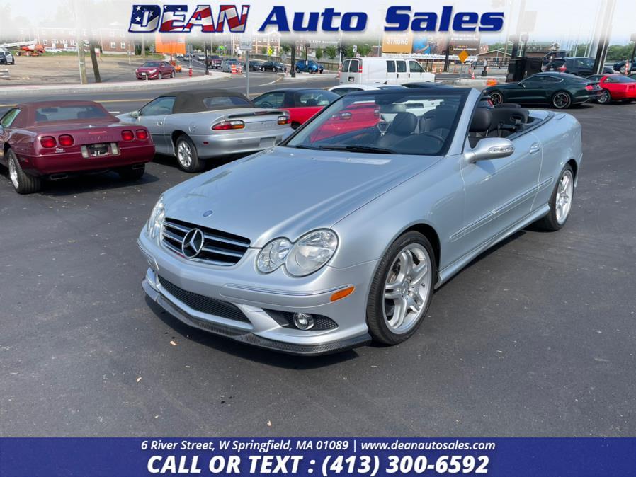 Used Mercedes-Benz CLK-Class 550 2dr Cabriolet 5.5L 2008   Dean Auto Sales. W Springfield, Massachusetts