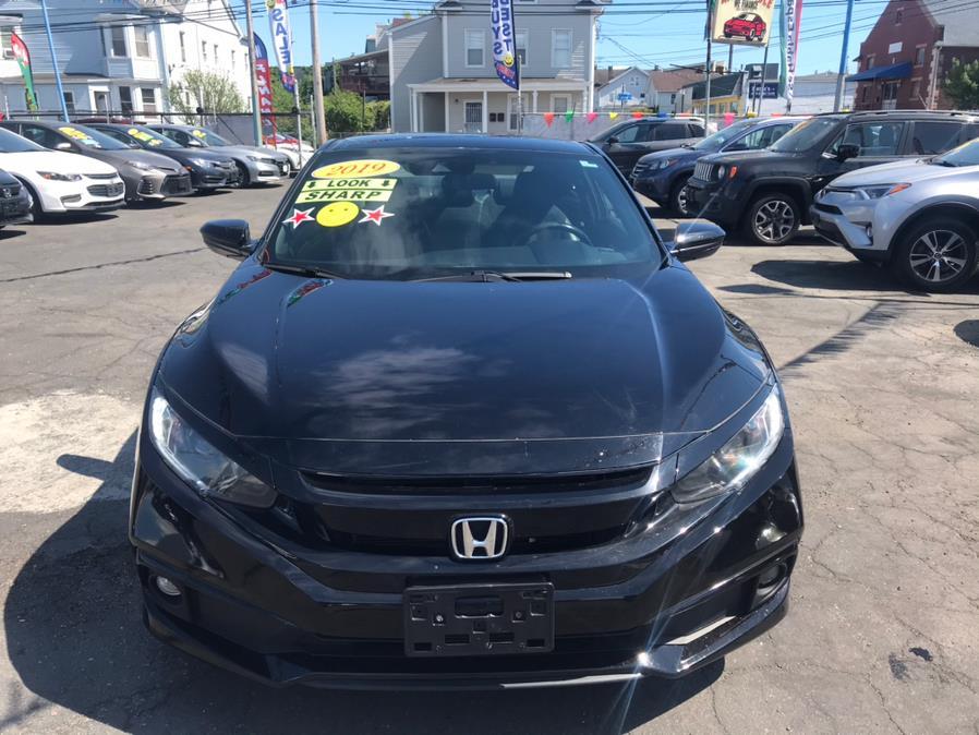 Used Honda Civic Coupe Sport CVT 2019   Affordable Motors Inc. Bridgeport, Connecticut
