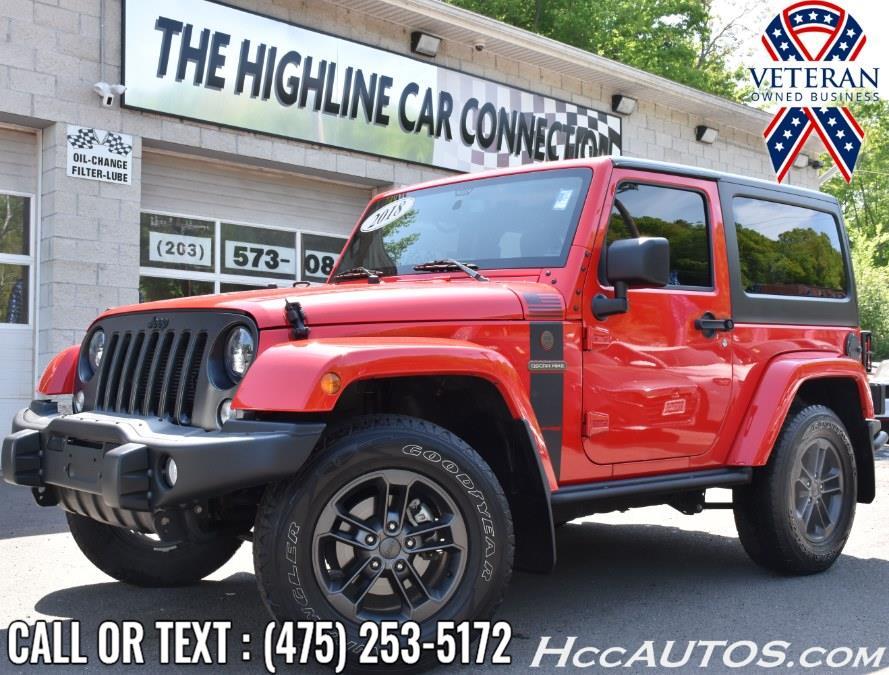 Used 2018 Jeep Wrangler JK in Waterbury, Connecticut | Highline Car Connection. Waterbury, Connecticut