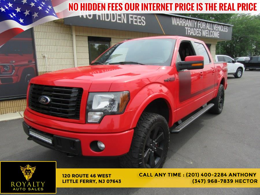 """Used Ford F-150 4WD SuperCrew 145"""" FX4 2012 