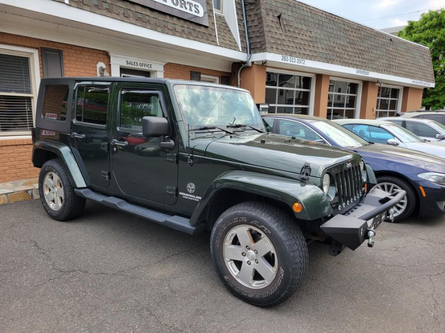 Used 2010 Jeep Wrangler Unlimited in Shelton, Connecticut   Center Motorsports LLC. Shelton, Connecticut