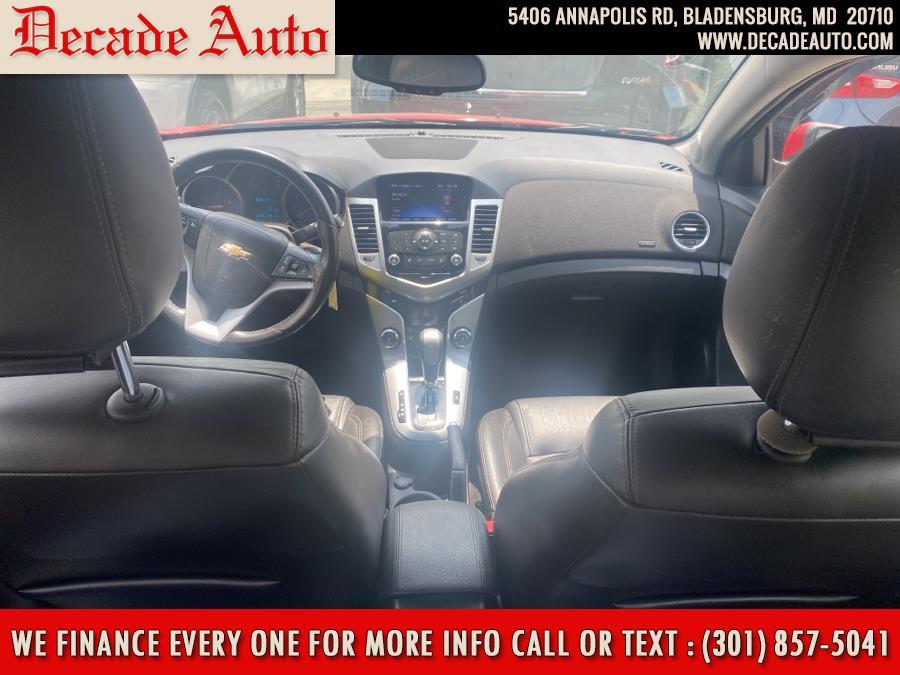 Used Chevrolet Cruze 4dr Sdn Auto 2LT 2015   Decade Auto. Bladensburg, Maryland
