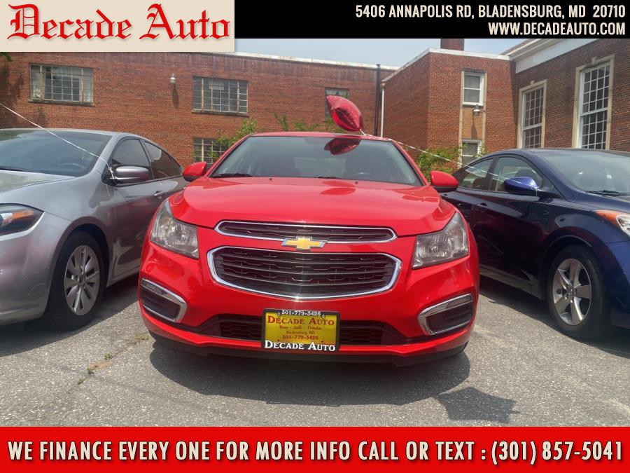 Used Chevrolet Cruze 4dr Sdn Auto 2LT 2015 | Decade Auto. Bladensburg, Maryland