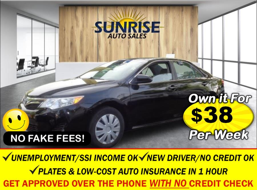 Used Toyota Camry 4dr Sdn I4 Auto LE (Natl) 2013   Sunrise Auto Sales. Rosedale, New York