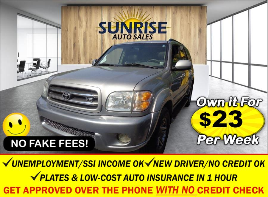Used Toyota Sequoia 4dr Limited 4WD (SE) 2003 | Sunrise Auto Sales. Rosedale, New York