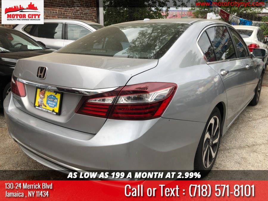 Used Honda Accord Sedan 4dr I4 CVT EX-L 2016   Motor City. Jamaica, New York