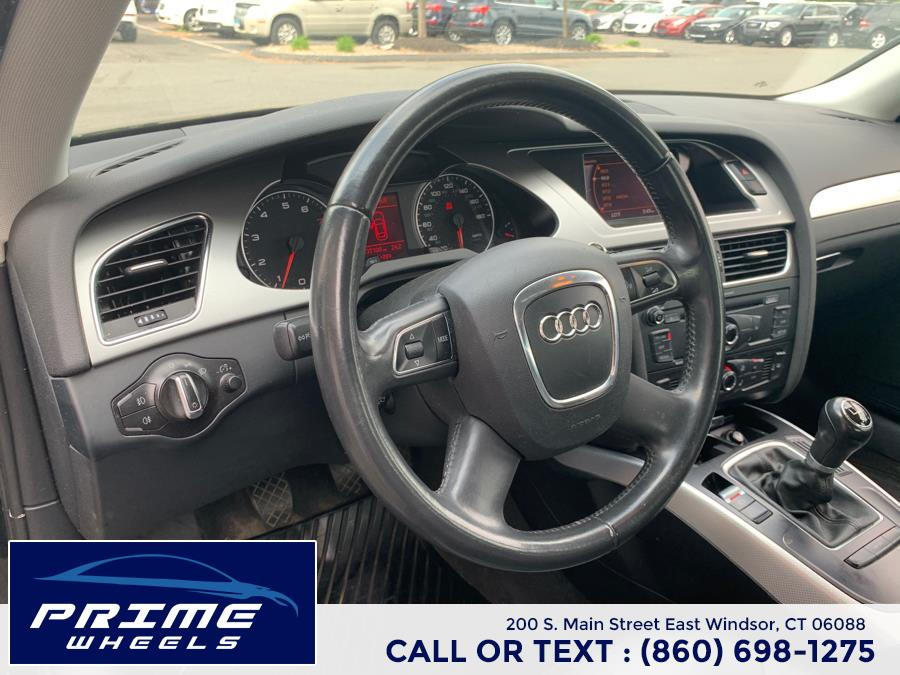 Used Audi A4 4dr Sdn Man quattro 2.0T Premium 2010   Prime Wheels. East Windsor, Connecticut