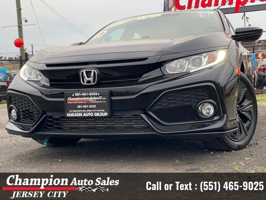 Used Honda Civic Hatchback EX CVT 2019   Champion Auto Sales of JC. Jersey City, New Jersey
