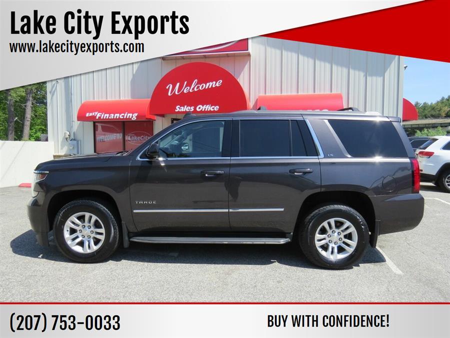 Used Chevrolet Tahoe LS 4x4 4dr SUV 2016   Lake City Exports Inc. Auburn, Maine