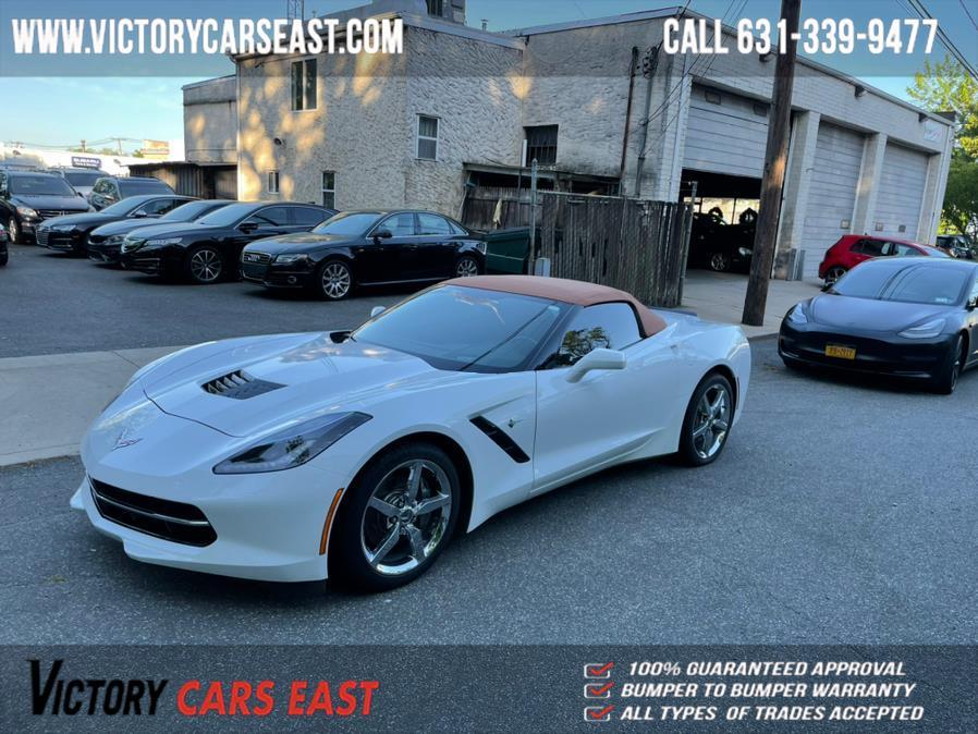Used Chevrolet Corvette 2dr Stingray Conv w/2LT 2015 | Victory Cars East LLC. Huntington, New York