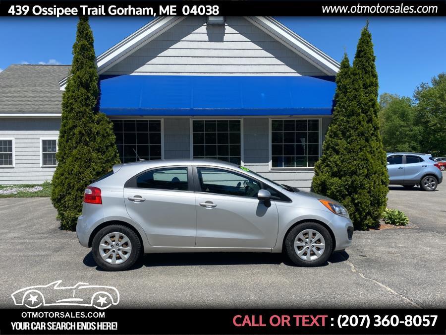 Used 2012 Kia Rio in Gorham, Maine   Ossipee Trail Motor Sales. Gorham, Maine