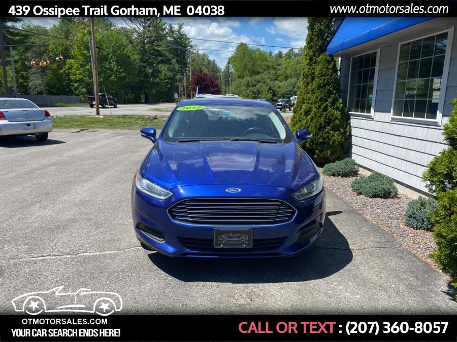 Used Ford Fusion 4dr Sdn SE FWD 2015 | Ossipee Trail Motor Sales. Gorham, Maine