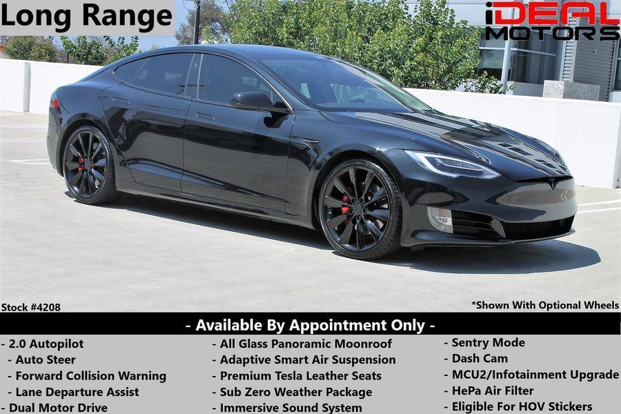 Used Tesla Model s Long Range Sedan 4D 2019 | Ideal Motors. Costa Mesa, California