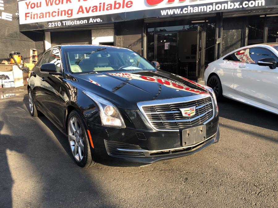 Used Cadillac ATS Sedan 4dr Sdn 2.0L Luxury Collection RWD 2016   Champion Auto Sales Of The Bronx. Bronx, New York