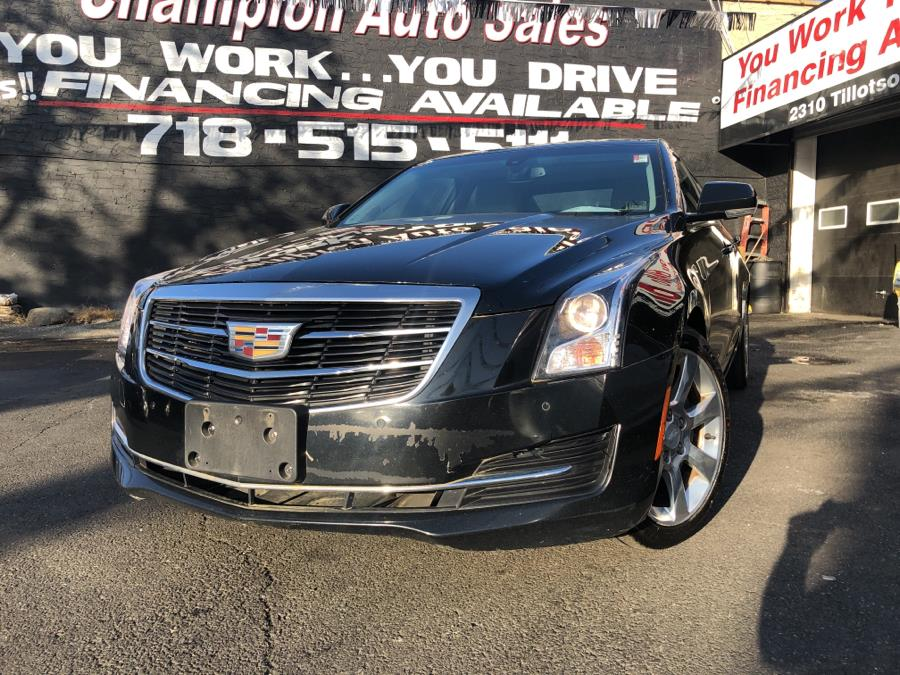 Used 2016 Cadillac ATS Sedan in Bronx, New York | Champion Auto Sales Of The Bronx. Bronx, New York
