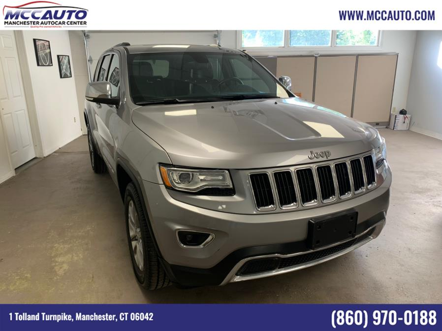Used Jeep Grand Cherokee 4WD 4dr Limited 2015 | Manchester Autocar Center. Manchester, Connecticut