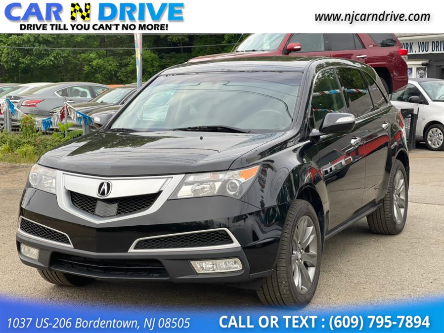 Used Acura Mdx 6-Spd AT w/Advance Package 2010   Car N Drive. Bordentown, New Jersey