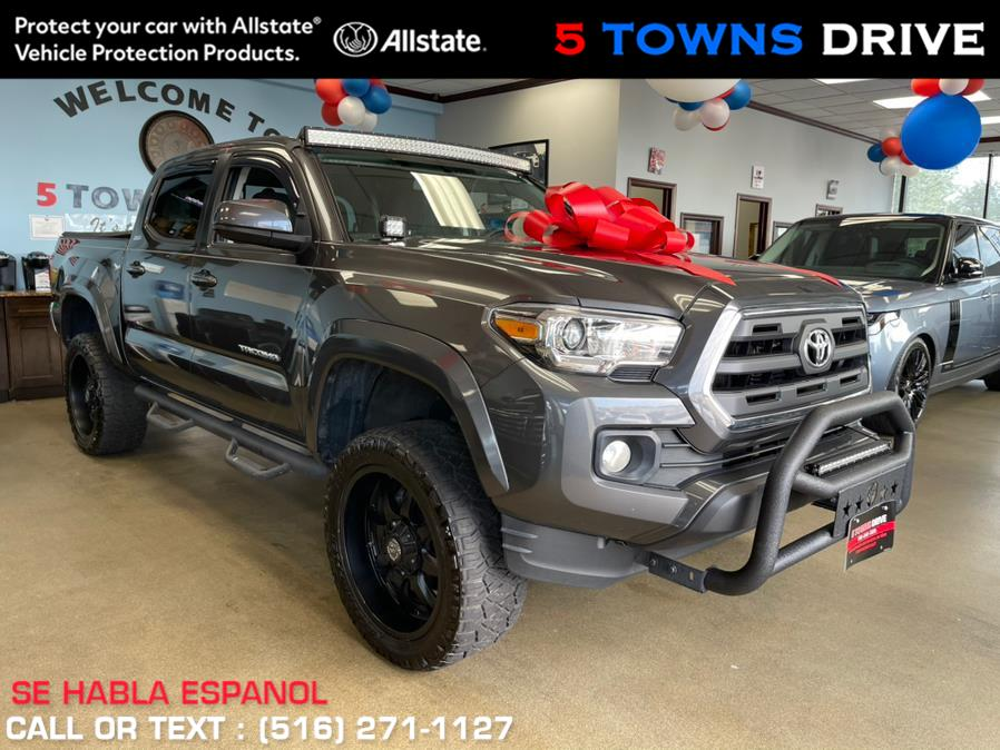 Used Toyota Tacoma SR5 Double Cab 5'' Bed V6 4x2 AT (Natl) 2017 | 5 Towns Drive. Inwood, New York