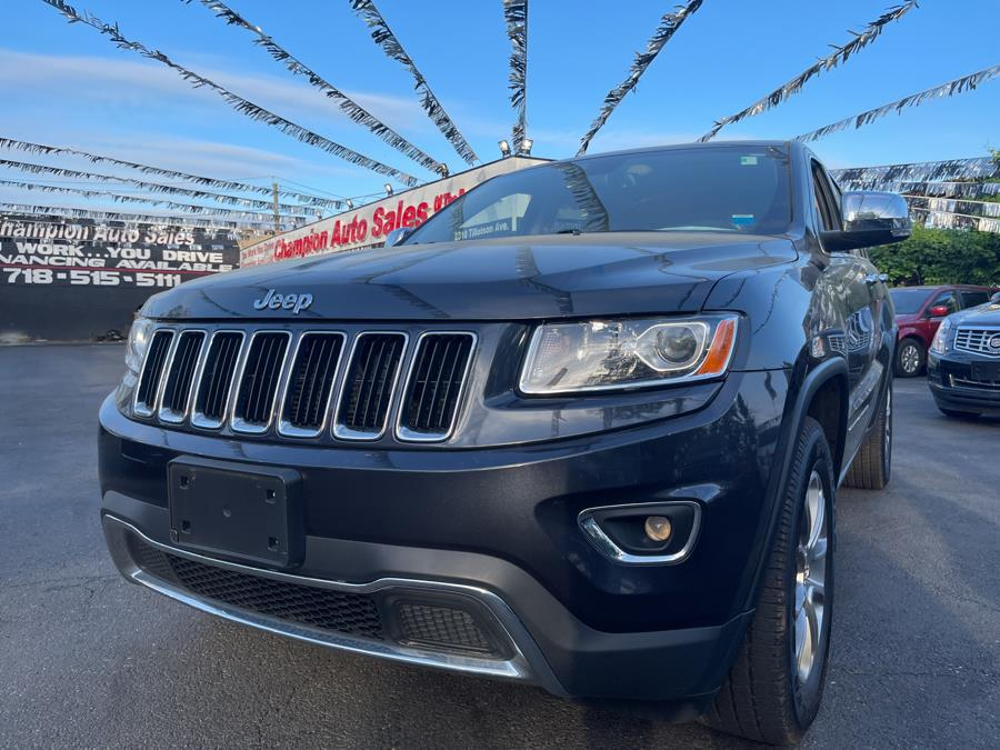 Used 2015 Jeep Grand Cherokee in Bronx, New York | Champion Auto Sales. Bronx, New York