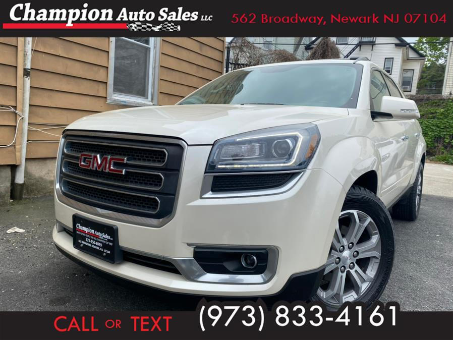 Used 2015 GMC Acadia in Newark, New Jersey | Champion Auto Sales. Newark, New Jersey