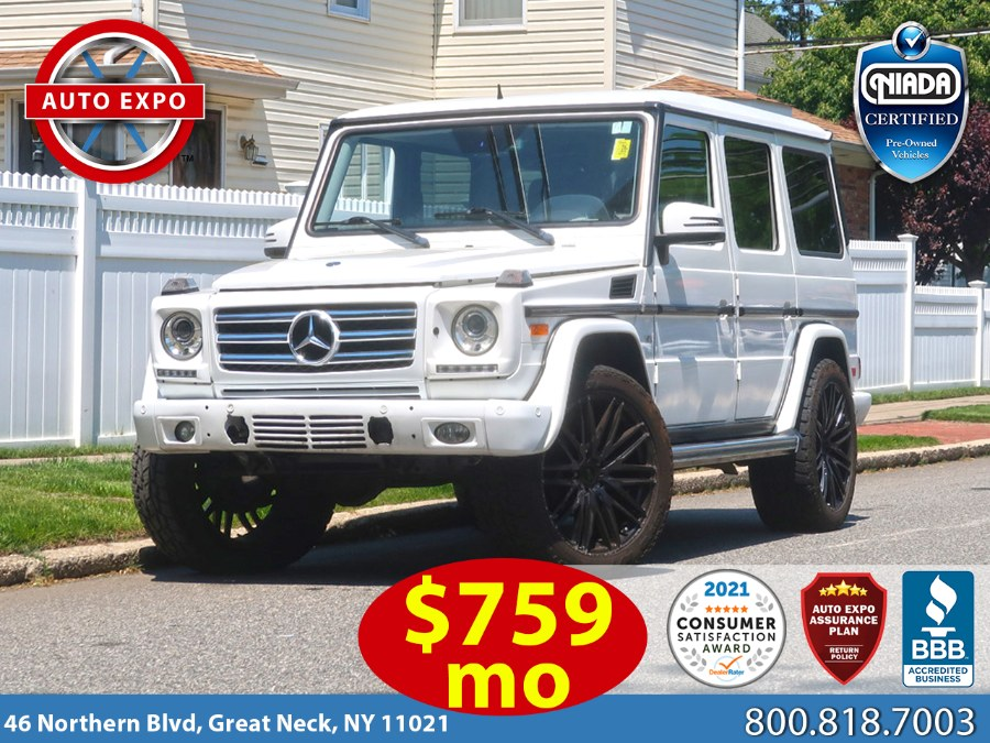 Used 2015 Mercedes-benz G-class in Great Neck, New York | Auto Expo Ent Inc.. Great Neck, New York