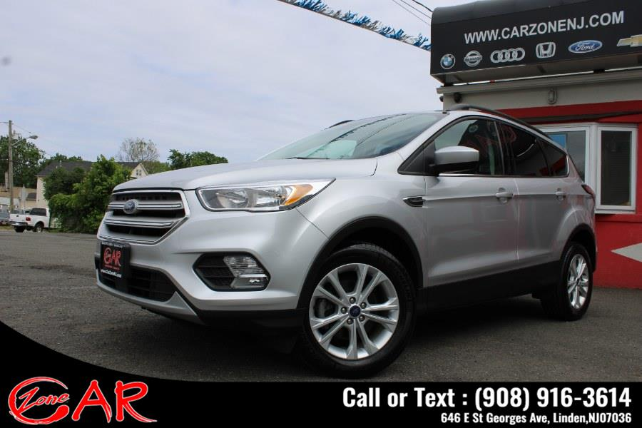 Used Ford Escape SE FWD 2018   Car Zone. Linden, New Jersey
