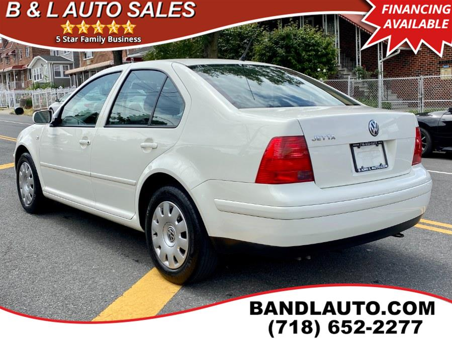Used Volkswagen Jetta Sedan 4dr Sedan GL Auto 2003 | B & L Auto Sales LLC. Bronx, New York