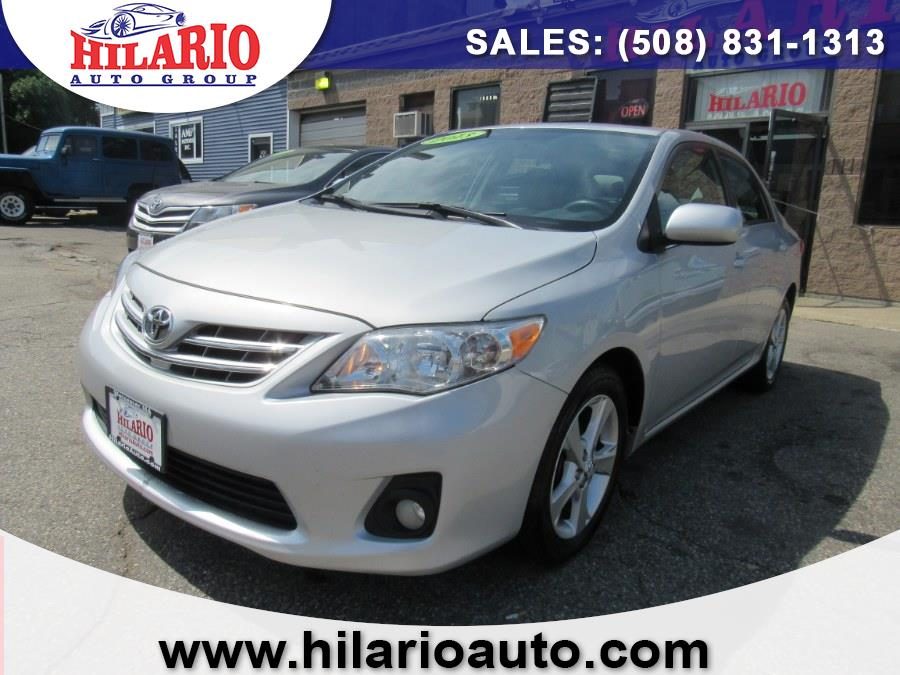 Used 2013 Toyota Corolla in Worcester, Massachusetts   Hilario's Auto Sales Inc.. Worcester, Massachusetts