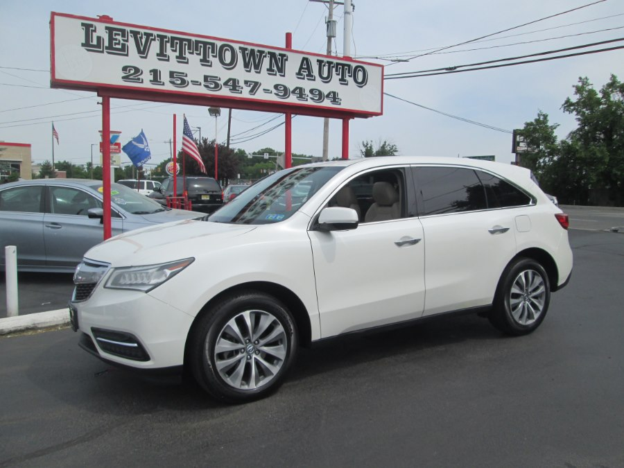 Used 2014 Acura MDX in Levittown, Pennsylvania | Levittown Auto. Levittown, Pennsylvania