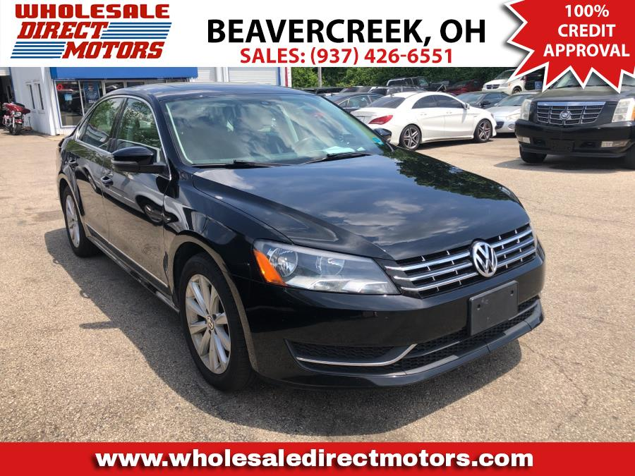 2013 Volkswagen Passat 4dr Sdn 2.5L Auto SEL PZEV *Ltd Avail*, available for sale in Beavercreek, OH