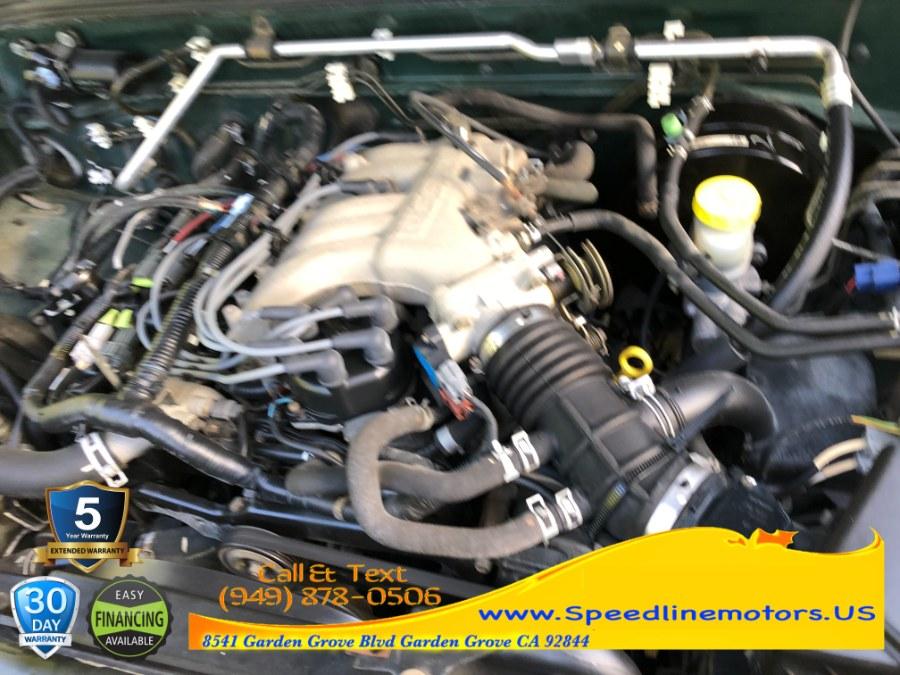 Used Nissan Frontier 2WD XE Crew Cab V6 Auto Std Bed 2002 | Speedline Motors. Garden Grove, California
