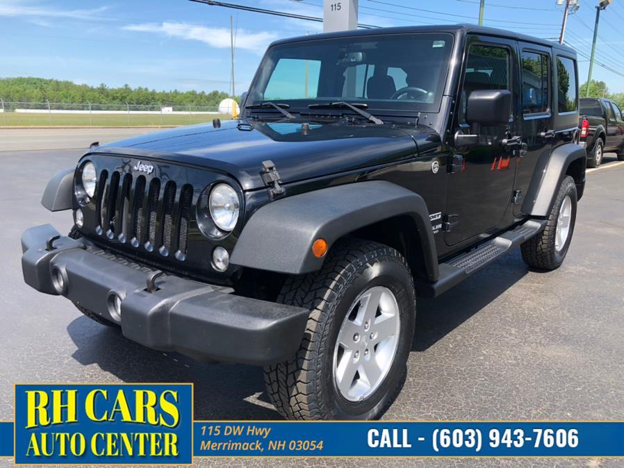 Used 2014 Jeep Wrangler Unlimited in Merrimack, New Hampshire | RH Cars LLC. Merrimack, New Hampshire