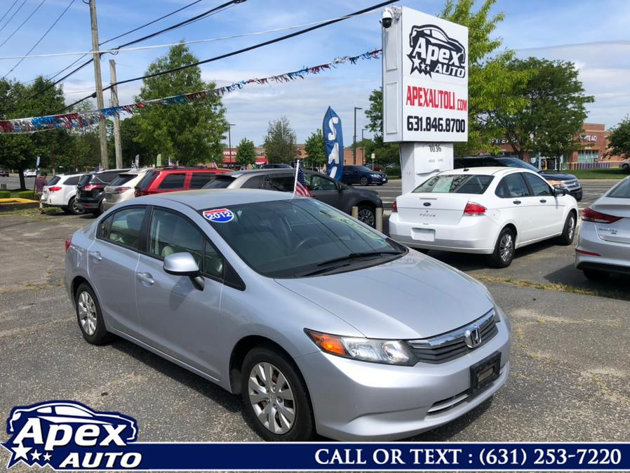 Used 2012 Honda Civic Sdn in Selden, New York | Apex Auto. Selden, New York