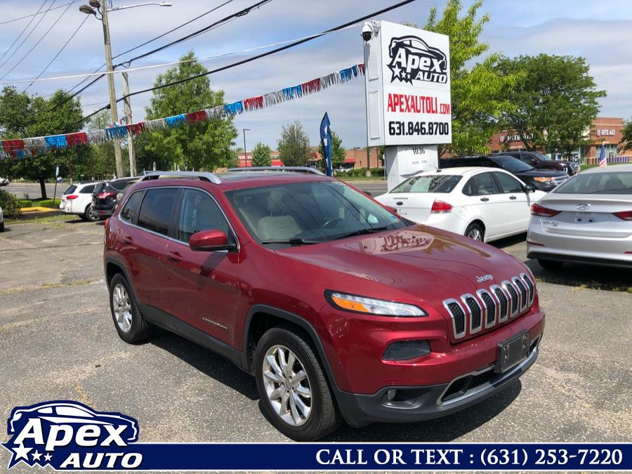 Used 2015 Jeep Cherokee in Selden, New York | Apex Auto. Selden, New York