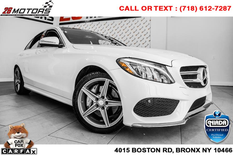 Used Mercedes-Benz C-Class 4dr Sdn C 300 Sport 4MATIC 2015   26 Motors Corp. Bronx, New York