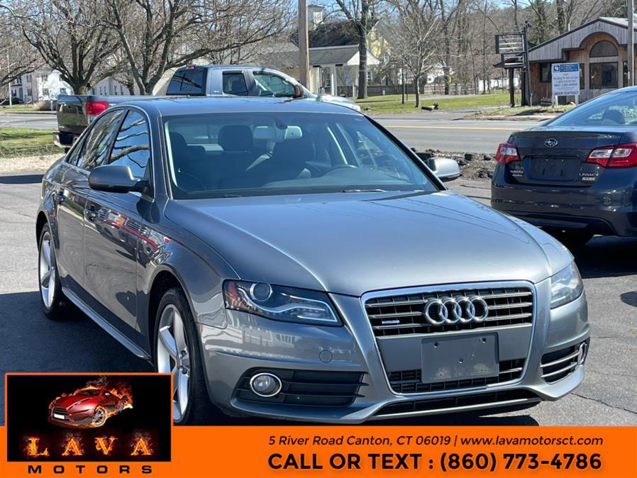Used 2012 Audi A4 in Canton, Connecticut | Lava Motors. Canton, Connecticut
